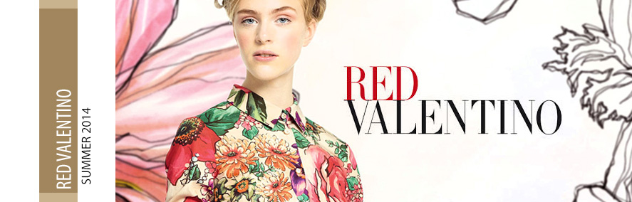 Новая коллекция RED VALENTINO S/S 2014
